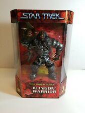 1999 Playmates Star Trek Alien Combat Series Klingon Warrior Factory Sealed