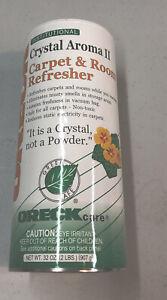 Oreck Crystal Aroma II Carpet & Room Freshener 32 Oz Open Container 3/4 Full