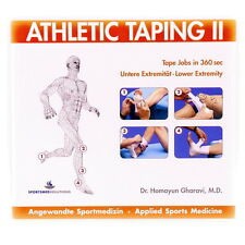 ATHLETIC TAPING 2 Untere Extremität CD-ROM, Sportmedizin, Taping-Techniken, NEU