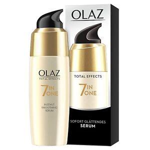 Olaz Total Effects Anti-Aging 7-in-1 Sofort Glättendes Serum 50ml Gesichtspflege