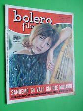 BOLERO 1964 878 Stefania Sandrelli Paul Anka Frankie Avalon Roger Vadim Spaak