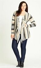 Crossroads Plus Size Striped Cardigans for Women