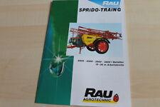128904) Rau Feldspritze Sprido Train G Prospekt 10/1999