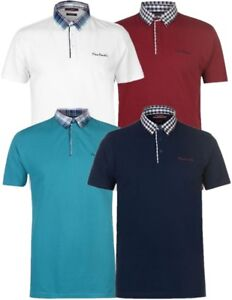 ✅ PIERRE CARDIN Herren Polo Shirt S-3XL Freizeit T-Shirt Sommer Hemd Kragen NEU