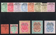 Somaliland 1903 KEVII set complete MLH. SG 1-13. Sc 1-13.