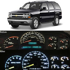 WHITE LED Dash Cluster Instrument Gauge Replacement Light Kit fits 00-02 TAHOE