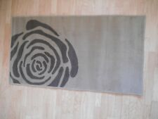 Rosita Taupe Polypropylene Rug by Rug Guru 70 x 130 cm
