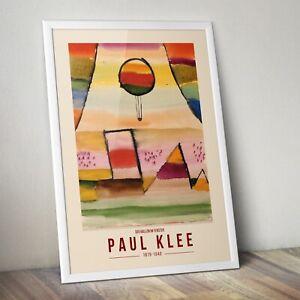 Paul Klee Art Print, der ballon im fenster by Paul Klee Print, Abstract Art Prin