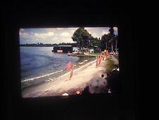 Photo slide Florida Sunken Gardens People ski Show Jump Boat 1958 water beach