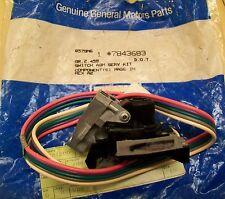 GM 7843683 wiring, wiper switch Camaro Firebird Cadillac El-Camino Buick NOS