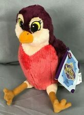 Disney Store Sofia the First stuffed animal plush Robin Bird red breast