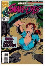GI JOE #143 (NM-) Cool High Grade! Marvel 1993 Starring....SNAKE EYES!