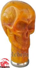 Vintage Skull Designer Head Handle For Wooden Walking Stick Only Handle