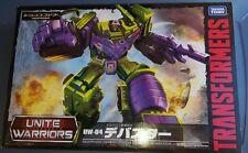inUSA Transformers Combiner Wars TAKARA Unite Warriors Constructicons DEVASTATOR