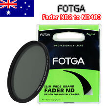 Fotga 77mm Slim Fader Neutral Density ND Filter ND2 to ND400 Wide Adjustable 77
