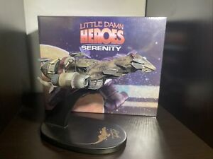Firefly QMx Little Damn Heroes Serenity Ship 1:400 Scale Replica Statue