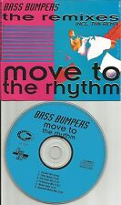 BASS BUMPERS Move to the Rhythm 6TRX RARE REMIXES & EDIT CD single USA Seller