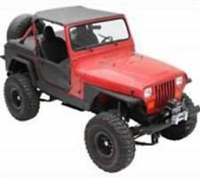 Smittybilt 1987-1995 Jeep Wrangler YJ XRC Rock Sliders Black Textured 76860