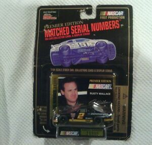 Rusty Wallace, Die Cast, Matched Serial #'s, Racing Champions Premier Edition