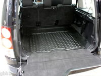 Land Rover Discovery 4 IV natural rubber boot liner load mat tailgate protector