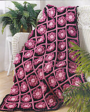 Crochet Pattern ~ LAURA'S ROSES AFGHAN ~ Instructions