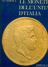 CAIROLA Aldo, Le monete dell'Unità d'Italia