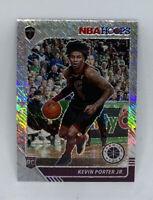 2020 Panini NBA HOOPS PREMIUM STOCK KEVIN PORTER JR-SILVER PRIZM SHIMMER RC #225