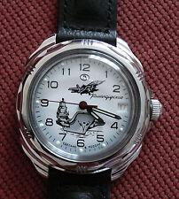 Wrist Mechanical Watch VOSTOK KOMANDIRSKIE Aircraft Carrier Military 211982