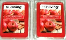 Candle Wax Melts Lot Apple Cinnamon Scent 12 Totalby True Living  NEW