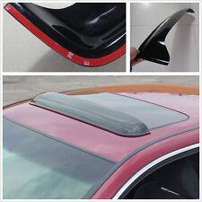 92x14 cm Autos  Deflector Sunroof Sun Moon Roof Visor Vent Wind Rain Guard Black