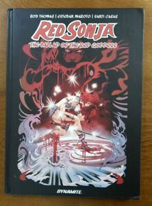 Red Sonja: The Ballad of the Red Goddess Dynamite Comics HC Hardcover GN UNREAD