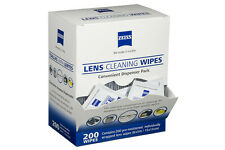 [Box/Pack of 10, 32 or 200] ZEISS Optical Lens Wipes-Glasses/Camera/Screens