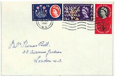 EE281 1961 GB London/National savings {samwells-covers}