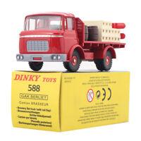 1/43 DinkyToys 588 Diecast Atlas BERLIET GAK Camion Kronenbourg PLATEAU BRASSEUR