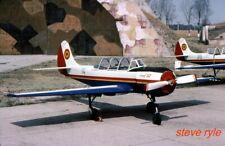 "MILITARY AIRCRAFT SLIDE - YAK 52 ROMANIAN AF ""14"" - 2001"
