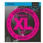 D'Addario EXP170-5 Coated 5-String Bass Guitar Strings, Light 45-130, Long Scale for sale