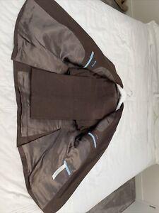 Mens Massimo Dutti All Linen Two Piece Suit Size U.K. 40 EU 50
