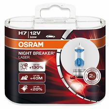 OSRAM h7 12v 55w NIGHT BREAKER LASER +130% in più di luce 2st. 64210nbl NUOVO!!!