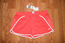 NWT Womens ADIDAS Performance Pink White Blitz Running Shorts Size XL X-Large