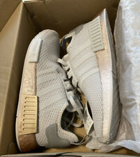 Women's Adidas NMD R1 | Grey/Rose Gold | Size 8.5 Shoes | NIB W/ Tags | FU9349