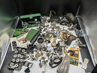 VINTAGE SEWING MACHINES LARGE LOT PARTS Attachments Pieces SINGER AND MORE