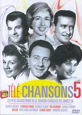 Télé-Chansons 5 : les grands noms de la chanson française des années 50 (DVD)
