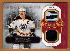 2013-14 , UPPER DECK , ARTIFACTS , ZDENO CHARA , TREASURED SWATCHES , RED , /12