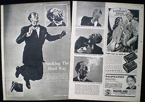 JACK KELLY JUGGLER CIGARETTE LIGHTING TRICK JUGGLING 2pp PHOTO ARTICLE 1951
