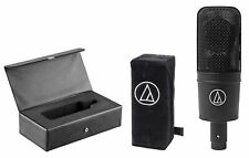 Audio Technica AT4033A/B Studio Mic Condenser Recording Microphone+Cover+Case