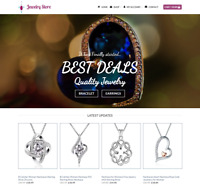 Jewelry Shop Website For Sale - Earn £470.00 A SALE. Free Domain| Web Hosting