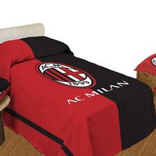 Copriletto leggero A.C. Milan ufficiale in cotone Singolo una piazza T936