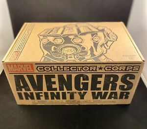 FUNKO POP AVENGERS INFINITY WAR THANOS W/ SANCTUARY COMPLETE BOX COLLECTOR CORPS
