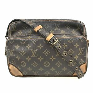 100% Authentic Louis Vuitton Monogram Nile Shoulder Bag M45244 [Used] {09-291B}