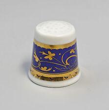 Kämmer PORCELLANA ditale Fiore Ornament ORO/BLU 2,5x2,6cm 88219